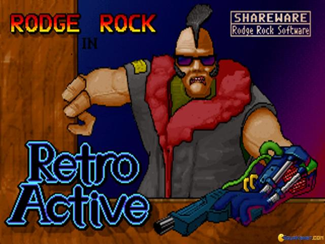 Rodge Rock In Retroactive - title cover