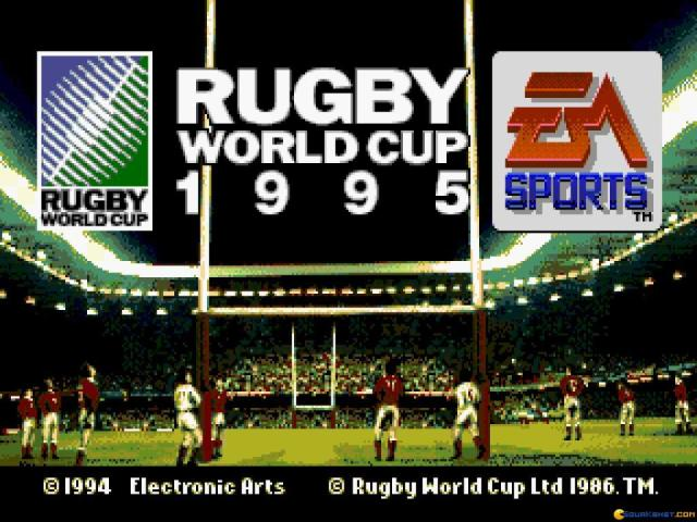 Rugby World Cup 95 - title cover