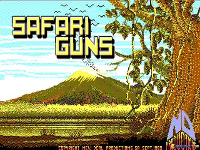 Safari Guns - title cover