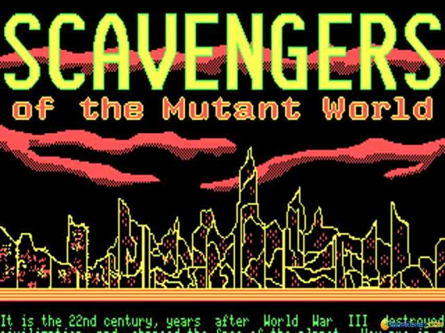 Scavengers of the Mutant World - title cover