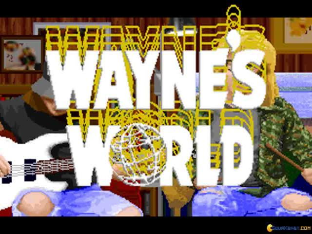 Wayne's World - title cover