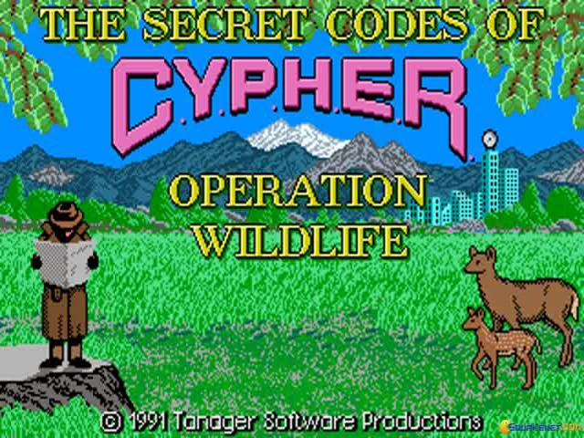 The Secret Codes of C.Y.P.H.E.R.: Operation Wildlife - title cover