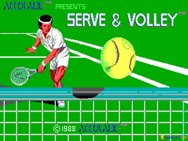 Serve & Volley - title cover