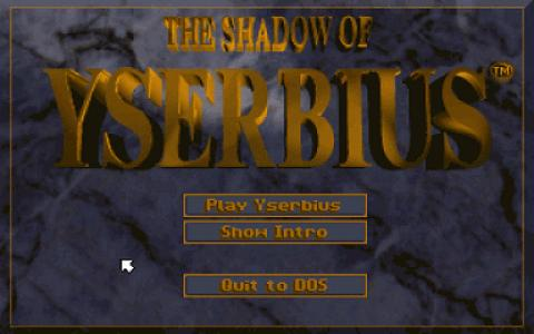 Shadow of Yserbius - title cover
