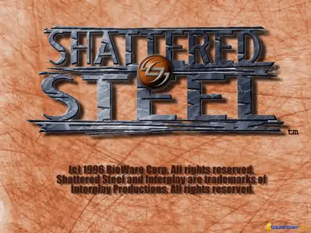 Shattered Steel - game cover