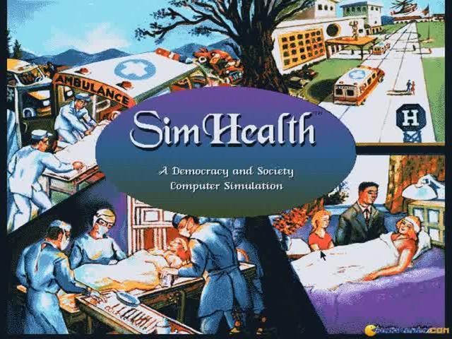 SimHealth - title cover