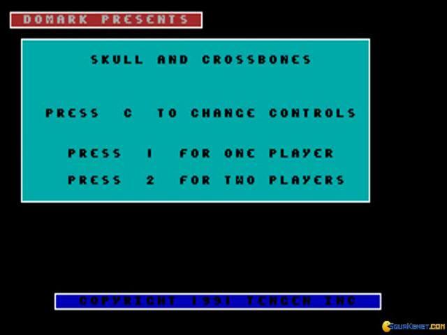 Skull & Crossbones - game cover