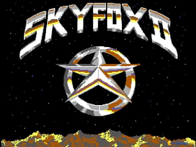 Skyfox II: The Cygnus Conflict - title cover
