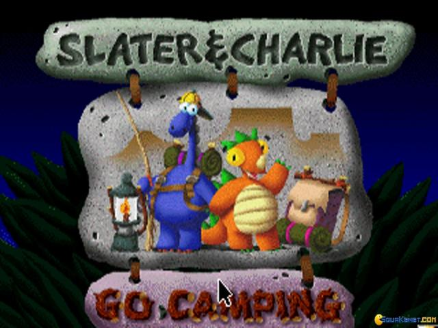 Slater & Charlie Go Camping - title cover