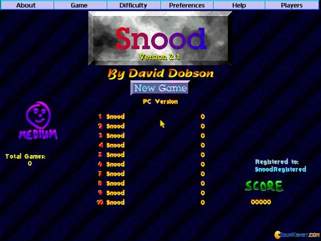 Snood - title cover
