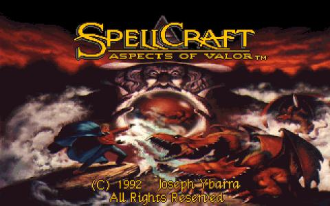 SpellCraft: Aspects of Valor - title cover