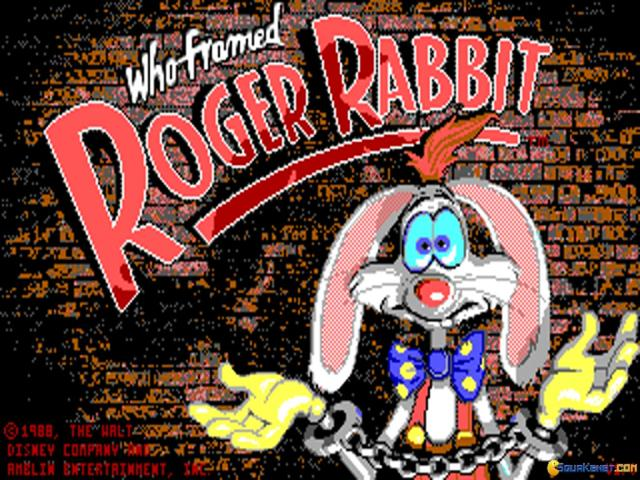 Who framed Roger Rabbit ? - game cover