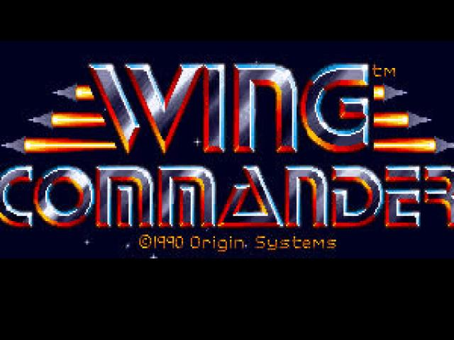 Wing Commander - title cover