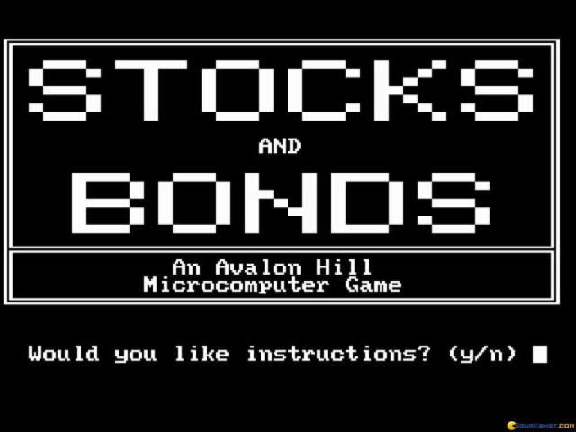Stocks And Bonds - game cover