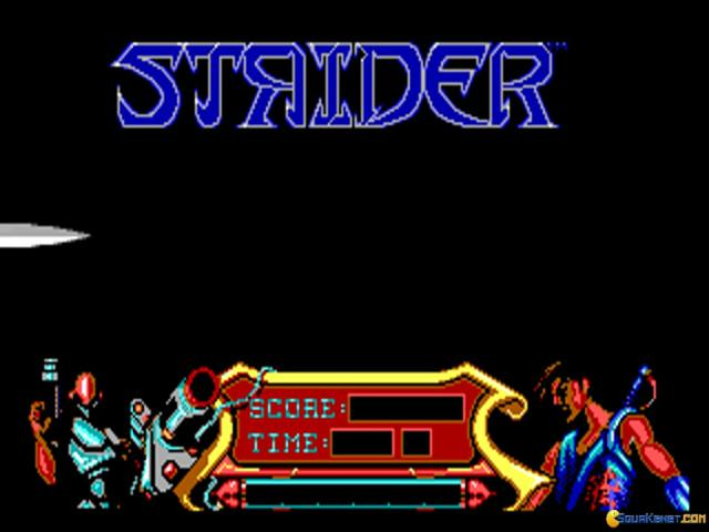 Strider News - PC | New Game Network