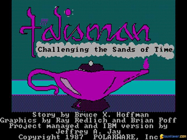 Talisman: Challenging the Sands of Time - title cover