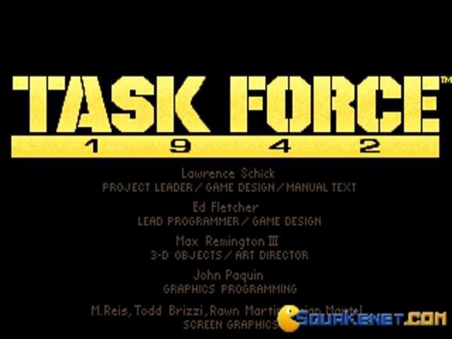 Task Force 1942 - title cover