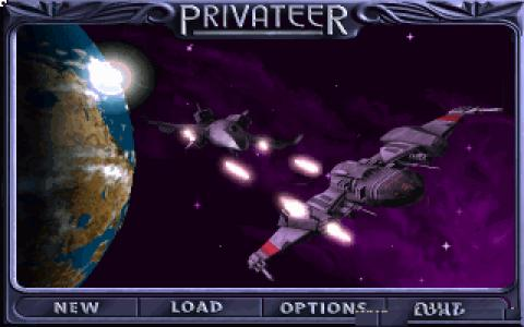 Wing Commander: Privateer - title cover