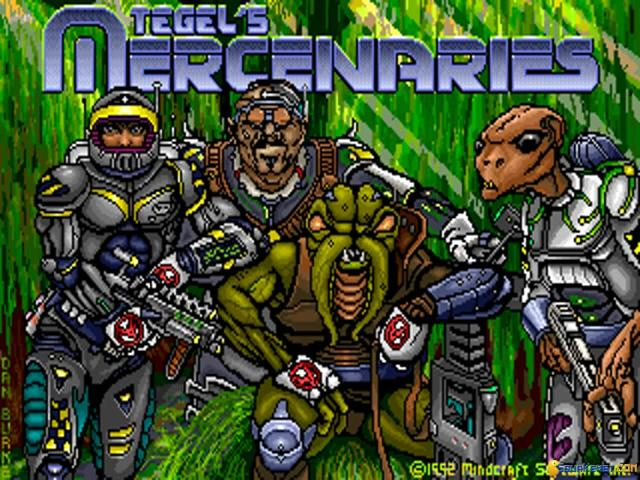 Tegel's Mercenaries - title cover
