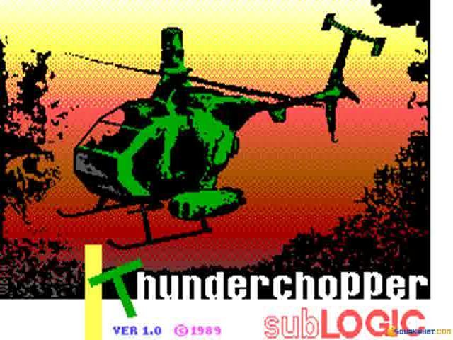 Thunder Chopper - game cover