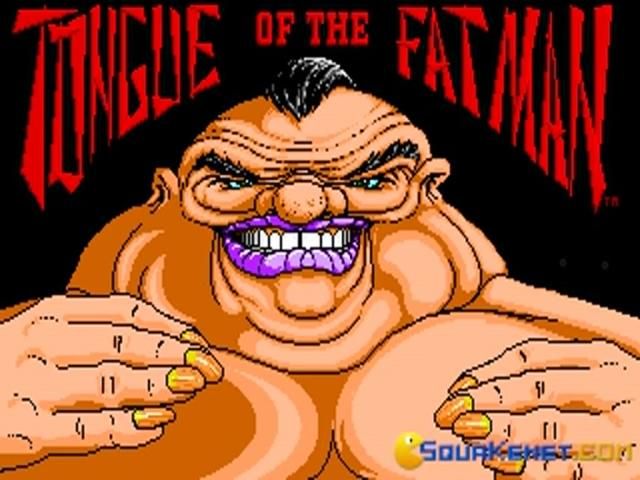 Tongue of the Fatman - title cover