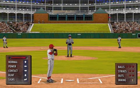 Tony La Russa Baseball 3 - game cover