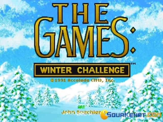 The Games: Winter Challenge - title cover