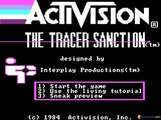 The Tracer Sanction - title cover