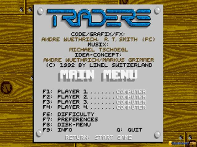 Traders: The Intergalactic Trading Game - title cover