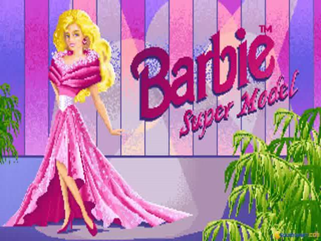 Barbies Super Model - game cover