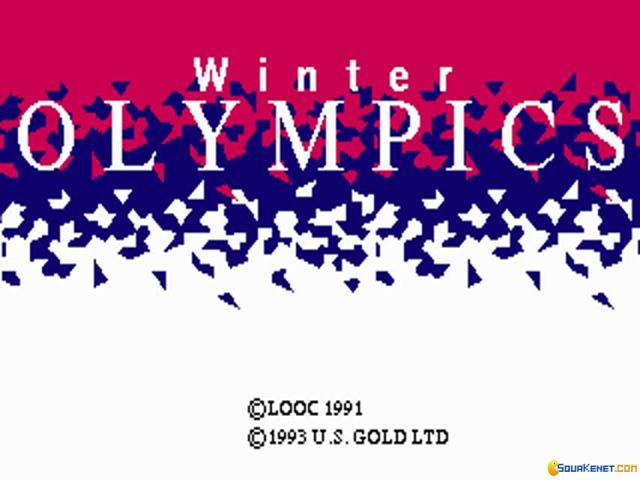 Winter Olympics: Lillehammer '94 - game cover