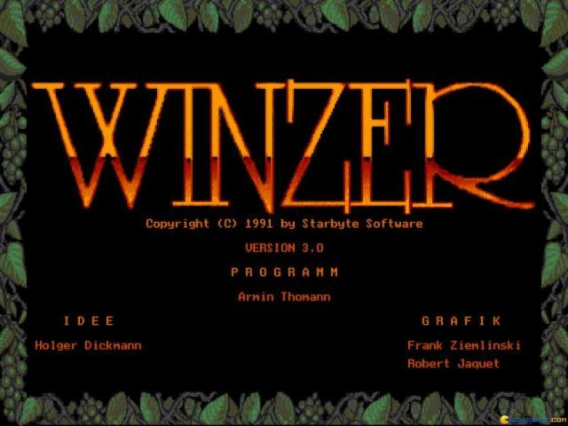 Winzer - game cover