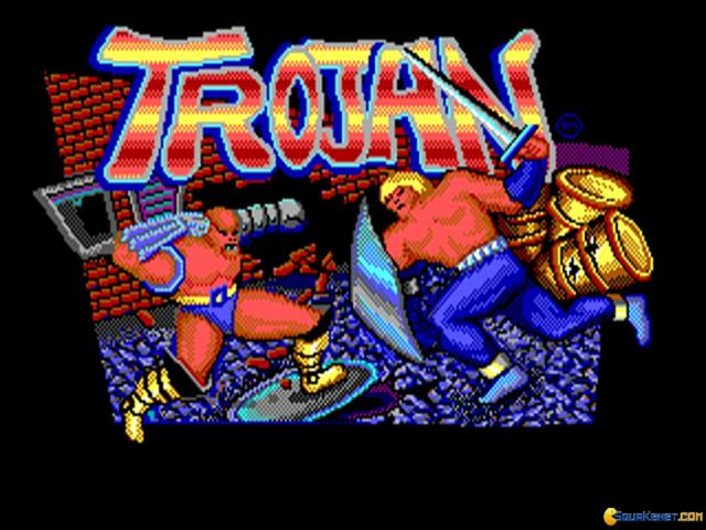 Trojan - game cover