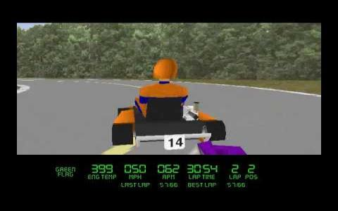 Virtual Karts - title cover