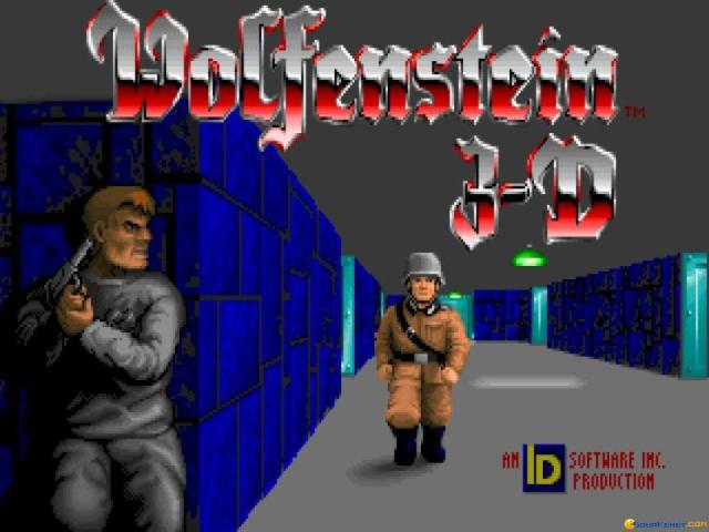 Wolfenstein 3D - title cover