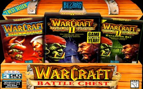 Warcraft Battle Chest - game cover