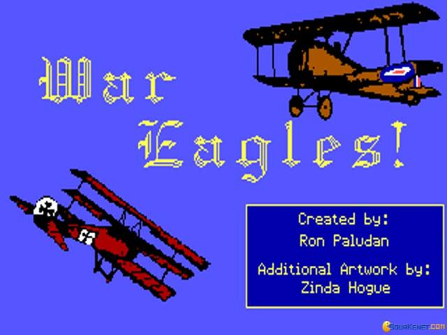 War Eagles - title cover