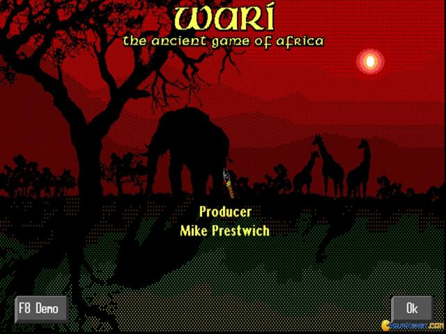 Wari: The Ancient Game of Africa - title cover