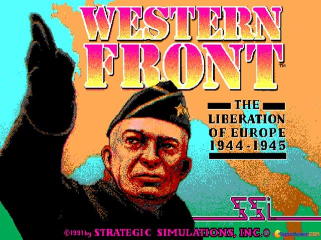 Western Front: The Liberation of Europe 1944-1945 - game cover