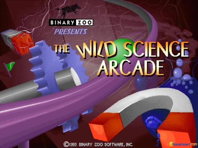 The Wild Science Arcade - title cover