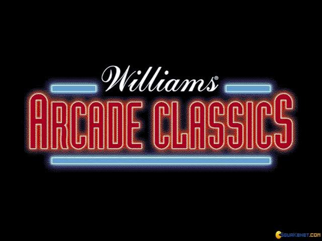 Williams Arcade Classics - title cover