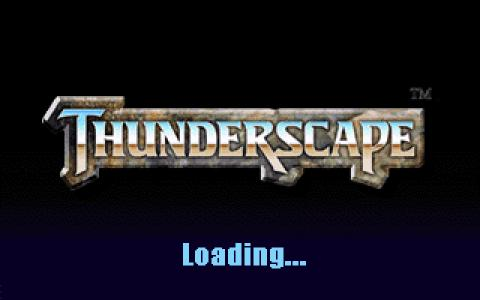World of Aden: Thunderscape - title cover
