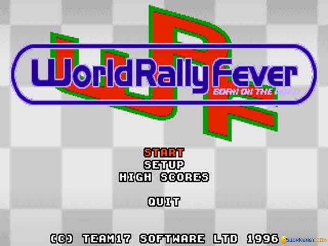 World Rally Fever: Born on the Road - title cover