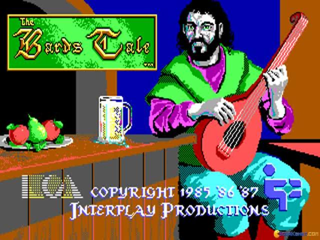 Bard's Tale - game cover