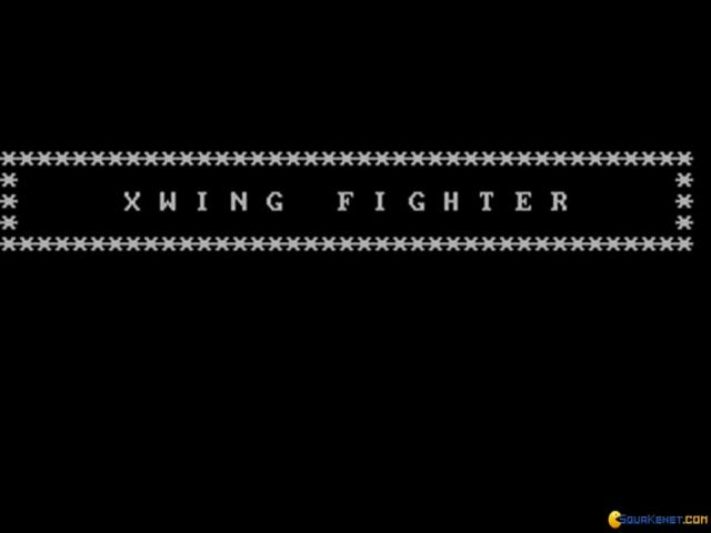 XWing Fighter - title cover