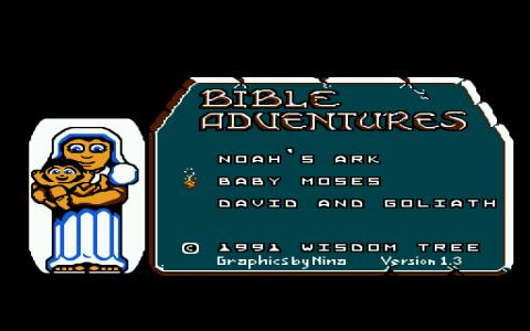 Bible Adventures - title cover