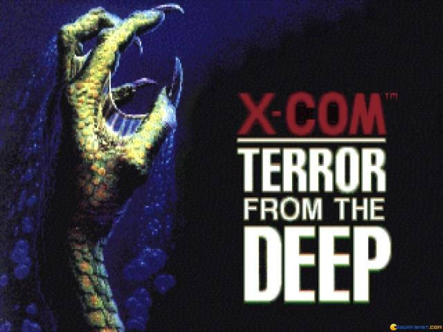 X-COM: Terror from the Deep - title cover