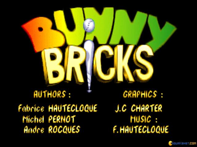 Bunny Bricks - title cover