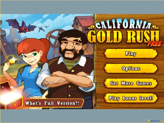 California Gold Rush! - title cover