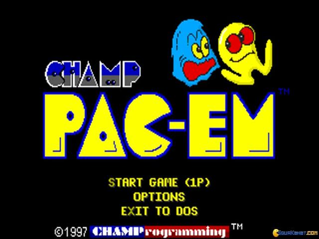 CHAMP Pac-em - title cover